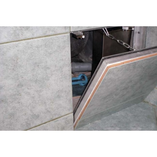 Removable wall hatches under the tiles BAULuke F20x20
