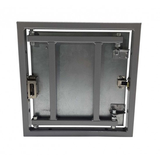 Inspection Door Magnetic Push Under Ceramic Tiles Steel Access Panel BAULuke ST60x80